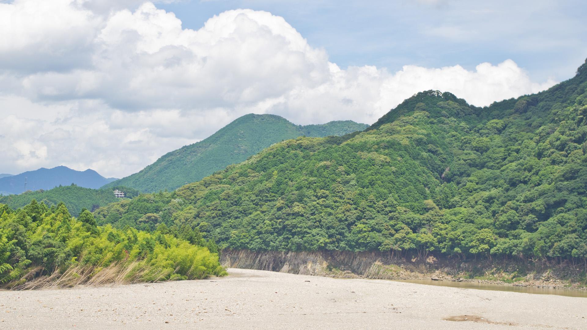 熊野の渓谷 河川