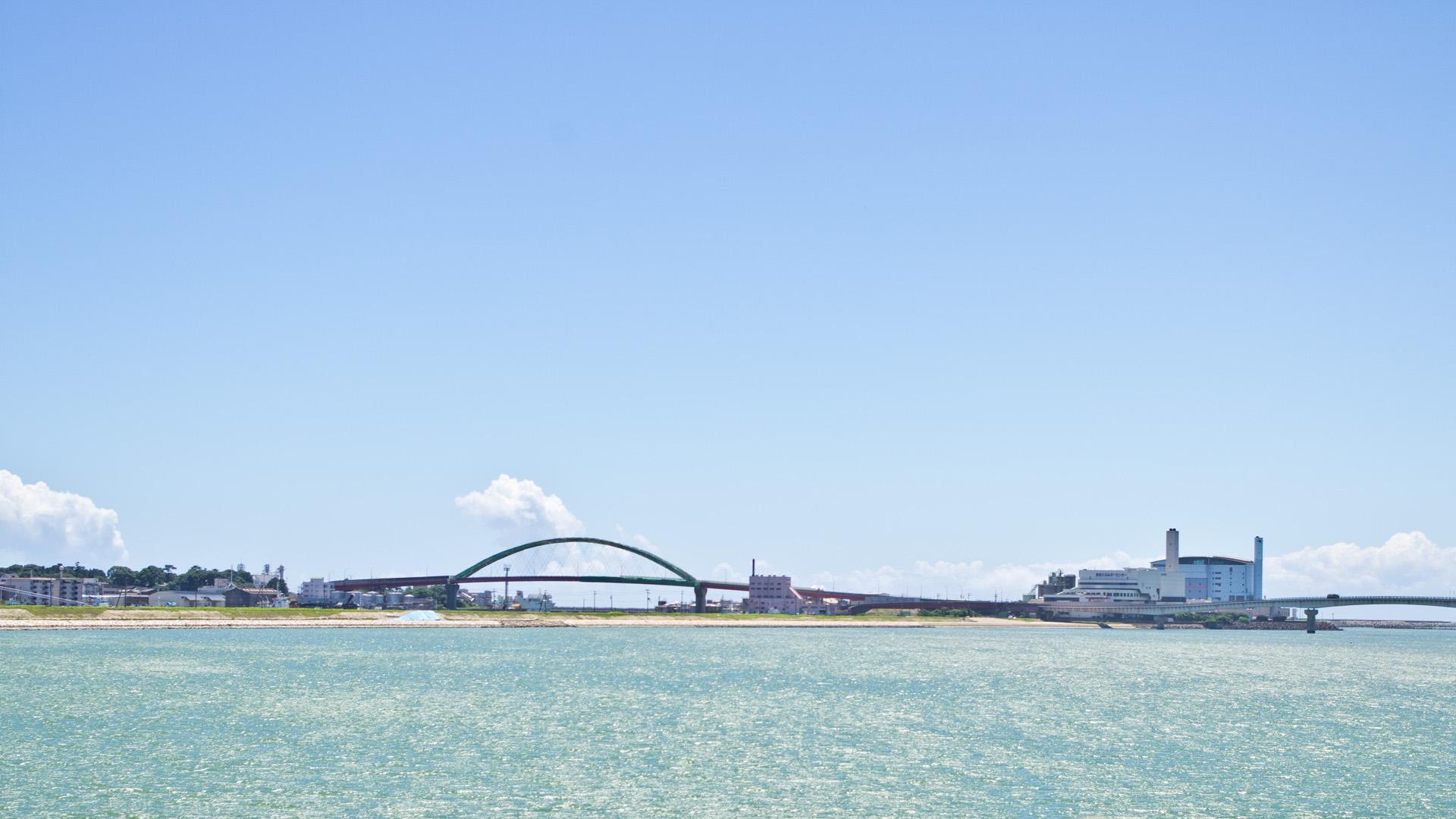 和歌山のどこかの河口