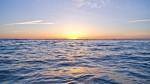 大浜海浜公園の夕焼け