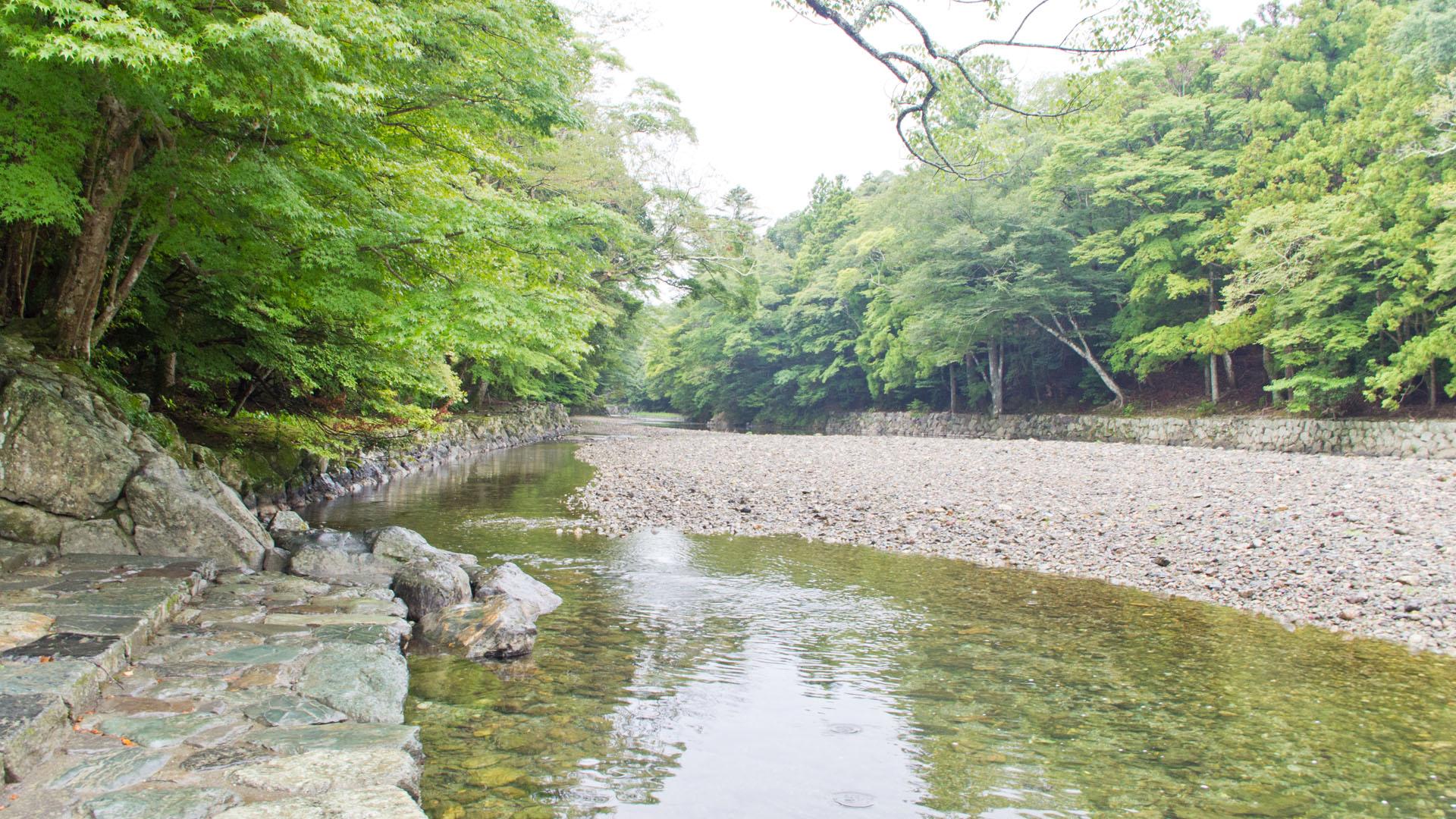 五十鈴川の御手洗