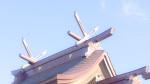 白兎神社の千木