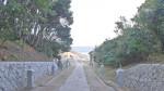 白兎神社の参道