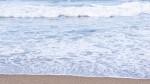 白兎海岸の波