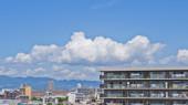 摩耶山系と夏雲