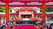赤間神宮 内拝殿